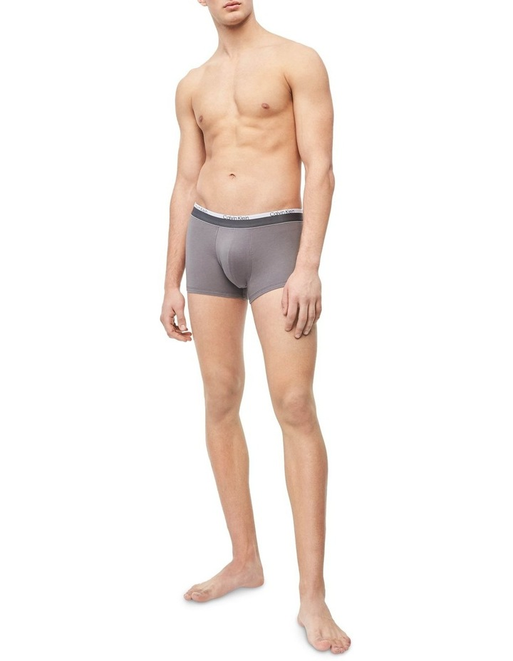 Fashion Band Cotton Stretch 3 Pack Trunks image 6