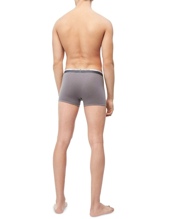 Fashion Band Cotton Stretch 3 Pack Trunks image 7