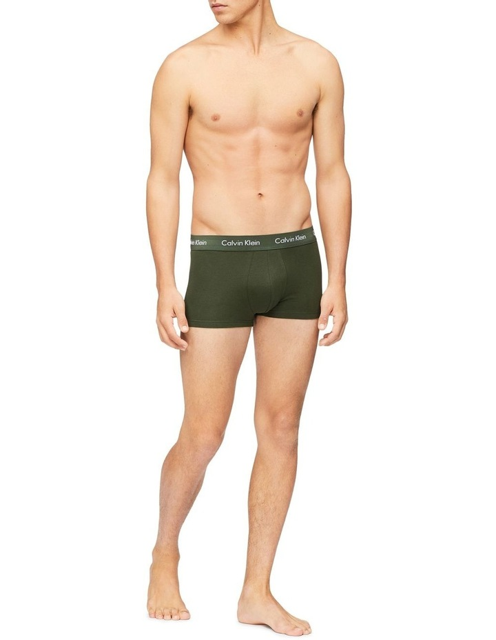 Cotton Stretch 3 Pack Trunks image 3