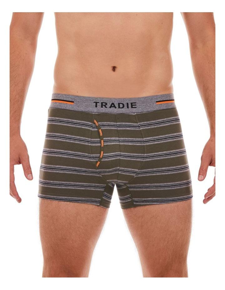 3 Pack Organic Cotton Stripe Trunk image 2