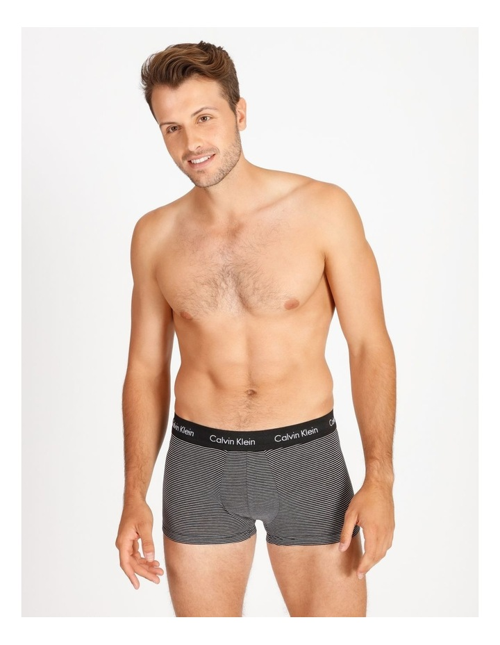 Cotton Stretch 3 Pack Low Rise Trunks image 2