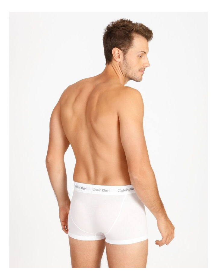 Cotton Stretch 3 Pack Low Rise Trunks image 3