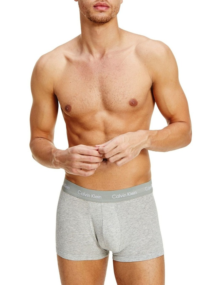 Cotton Stretch 3 Pack Low Rise Trunks image 6