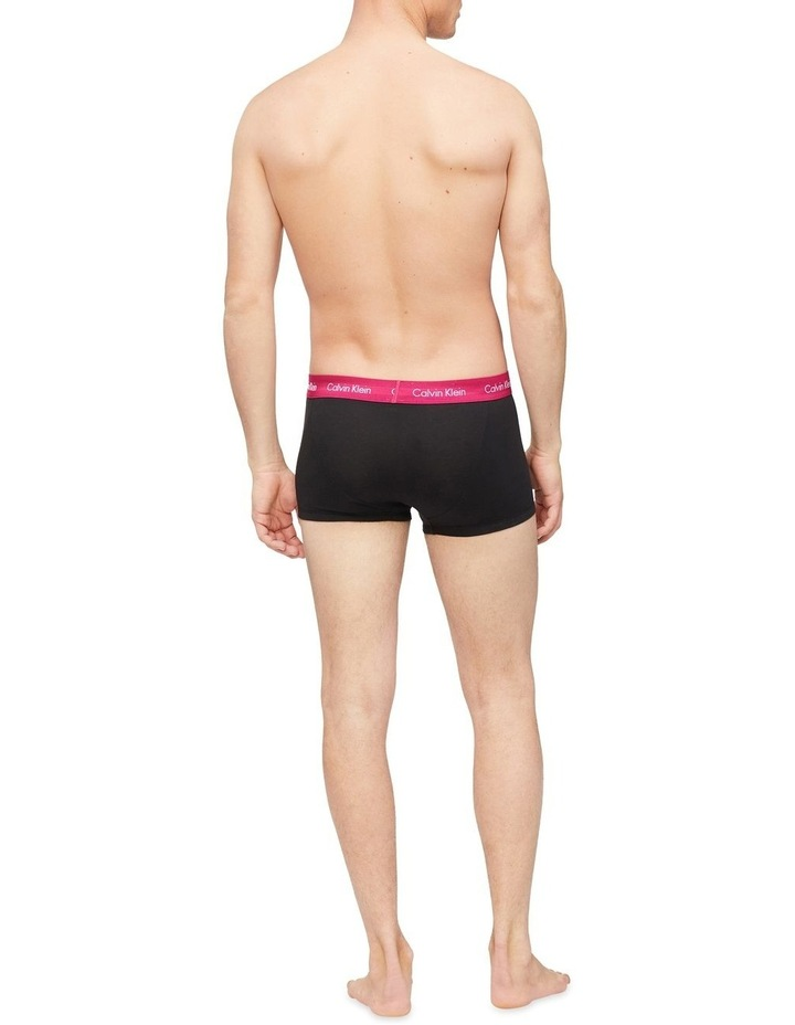 Cotton Stretch 3 Pack Low Rise Trunks image 4