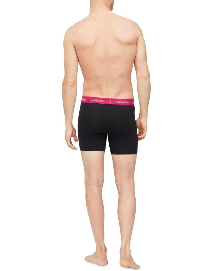 Cotton Stretch 3 Pack Boxer Brief image 4