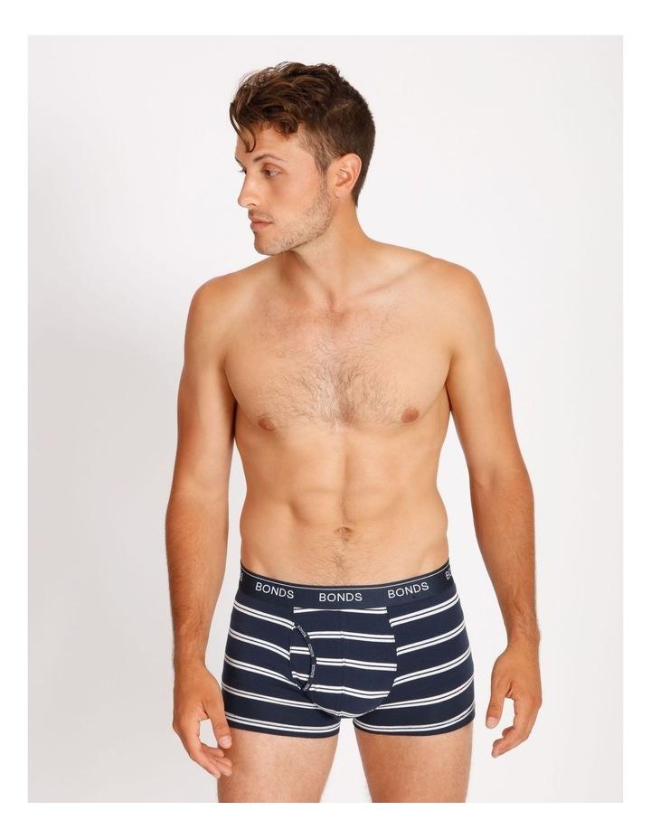 3 Pack Guyfront Stripe Trunks image 2