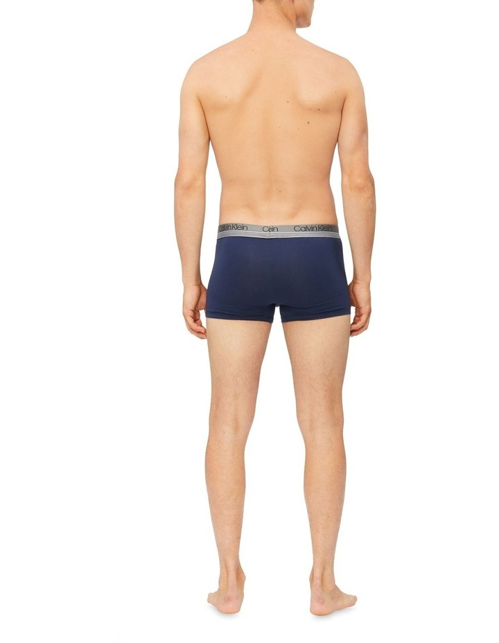 Cotton Stretch Fashion 3 Pack Trunks image 3