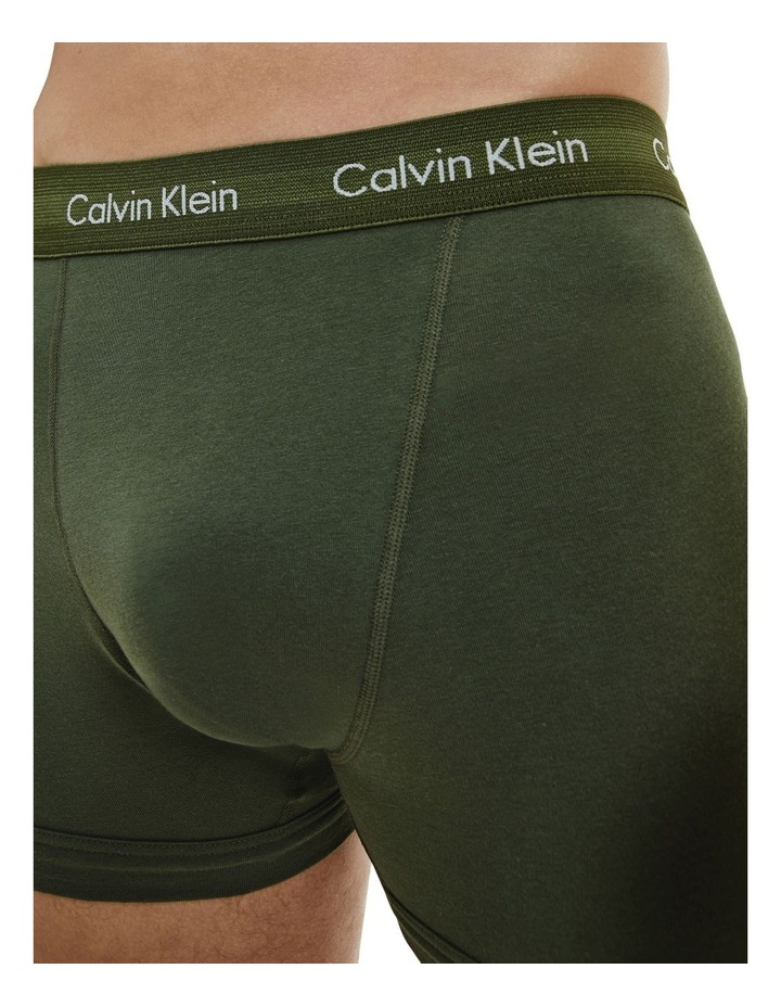 3 Pack Cotton Stretch Trunks image 5