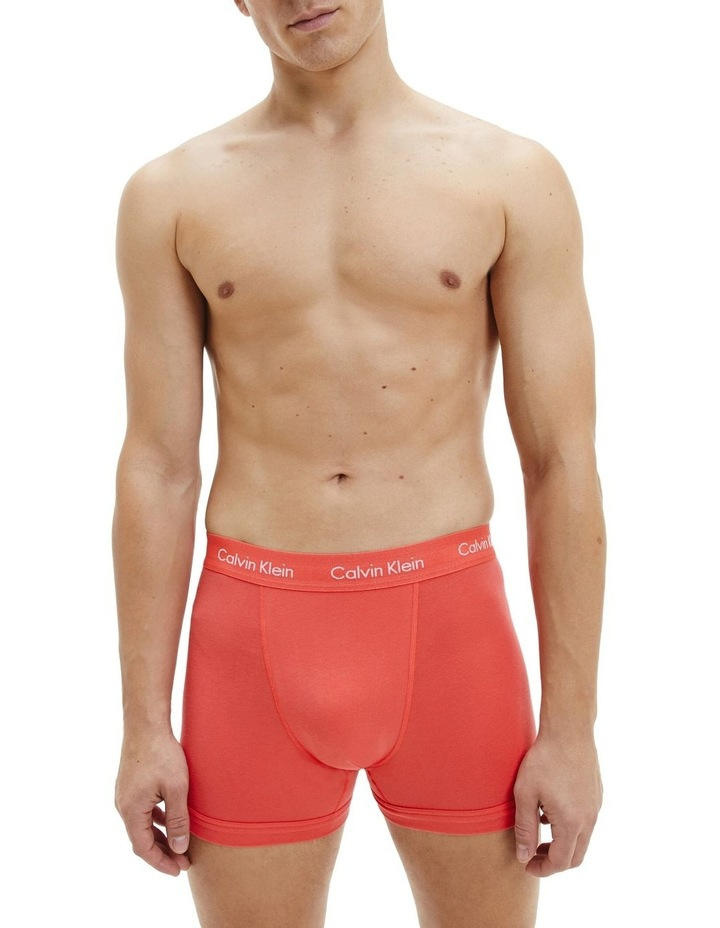 3 Pack Cotton Stretch Trunks image 3
