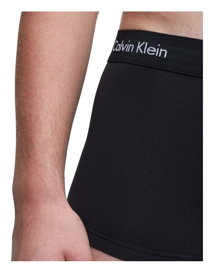 5 Pack Cotton Stretch Low Rise Trunks image 5