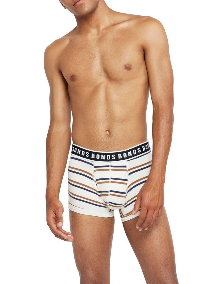 Fit Cotton Stripe Trunk image 1