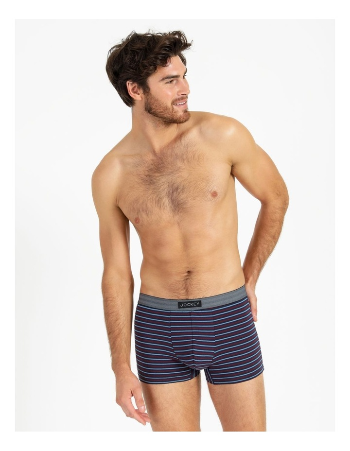 3 Pack Everyday Comfort Classic Trunks image 2