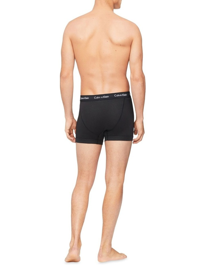Cotton Stretch 3 Pack Trunks image 4