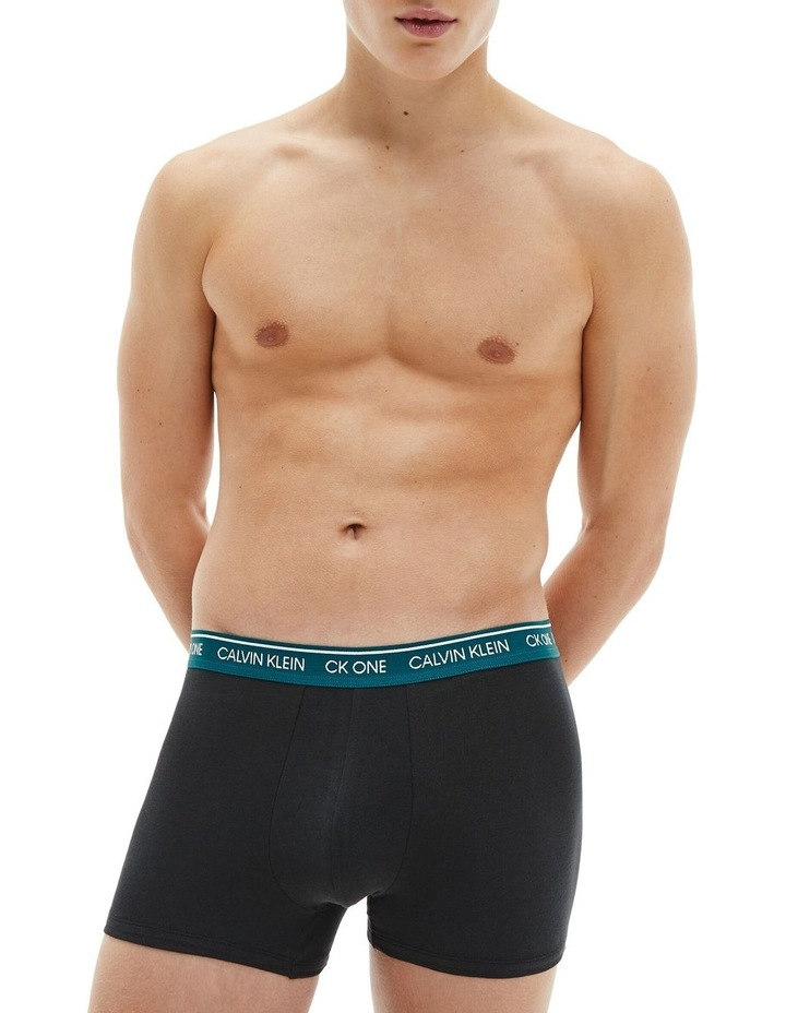 7 Pack Ck One Cotton Stretch Trunks image 4