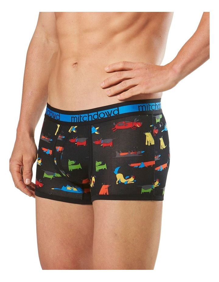 Cartoon Dogs Printed Bamboo Blend Fitted Trunk image 2