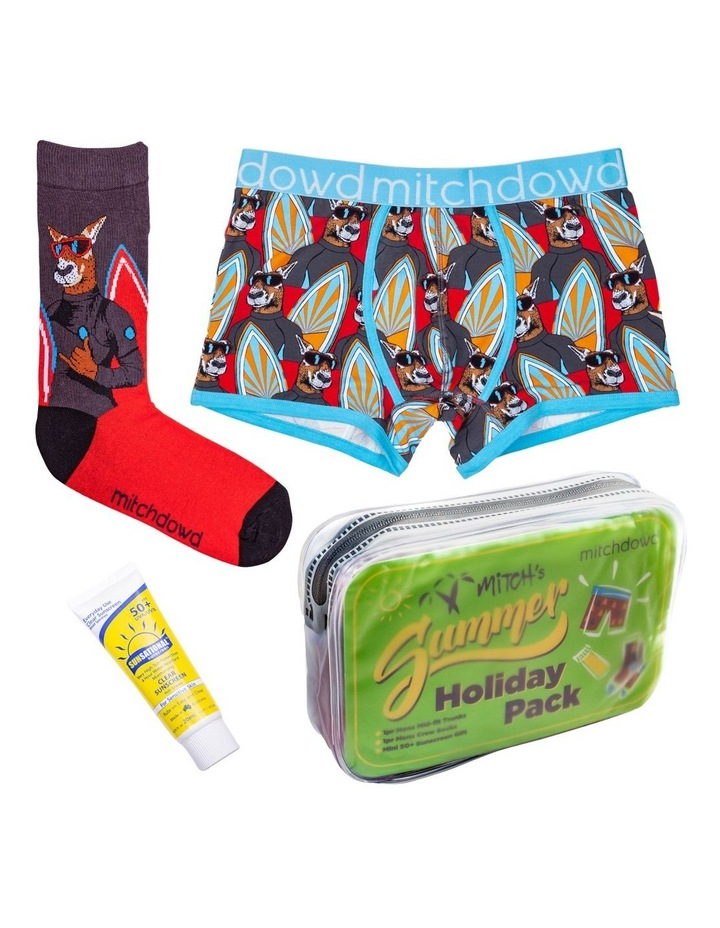 Surf Roo Summer Holiday Gift Pack - Includes Trunks, Socks & Zinc image 1