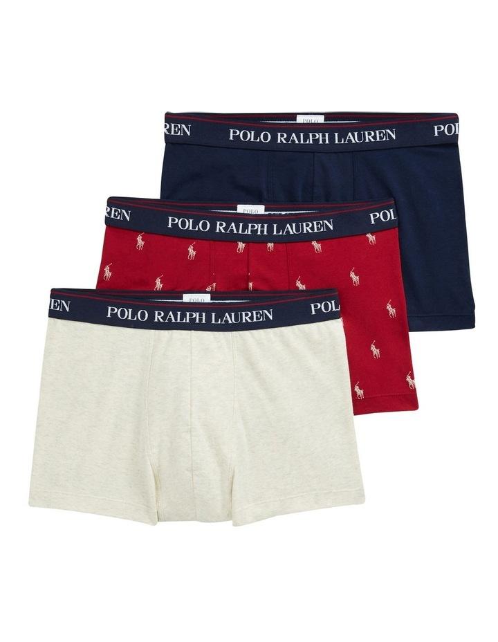 3 Pack Fashion Print Trunks image 1