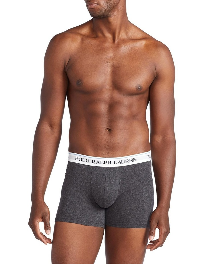 3 Pack Classic Fashion Long Trunks image 2