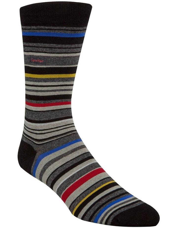 Calvin Klein Multi Colour Stripe Crew image 1