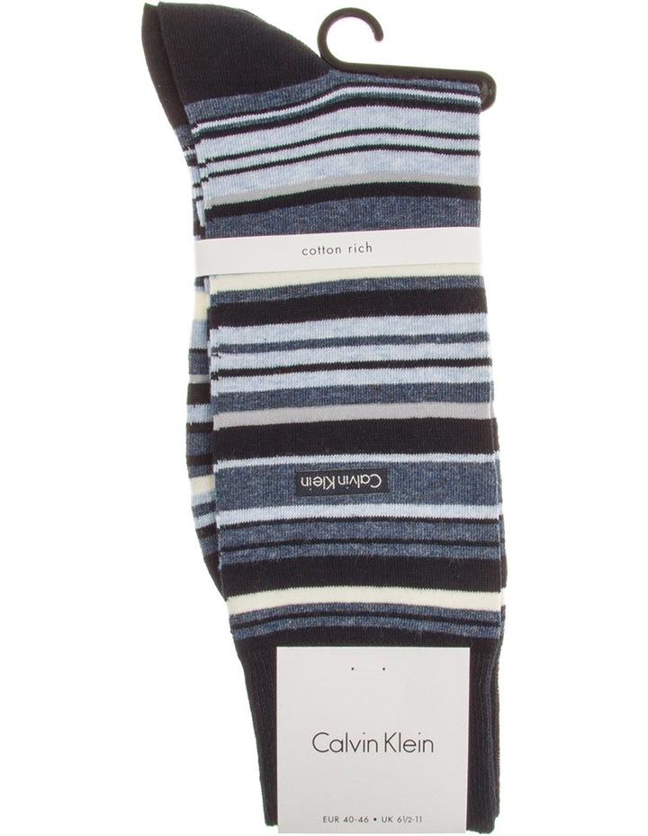 Barcode Stripe Cotton Sock image 1