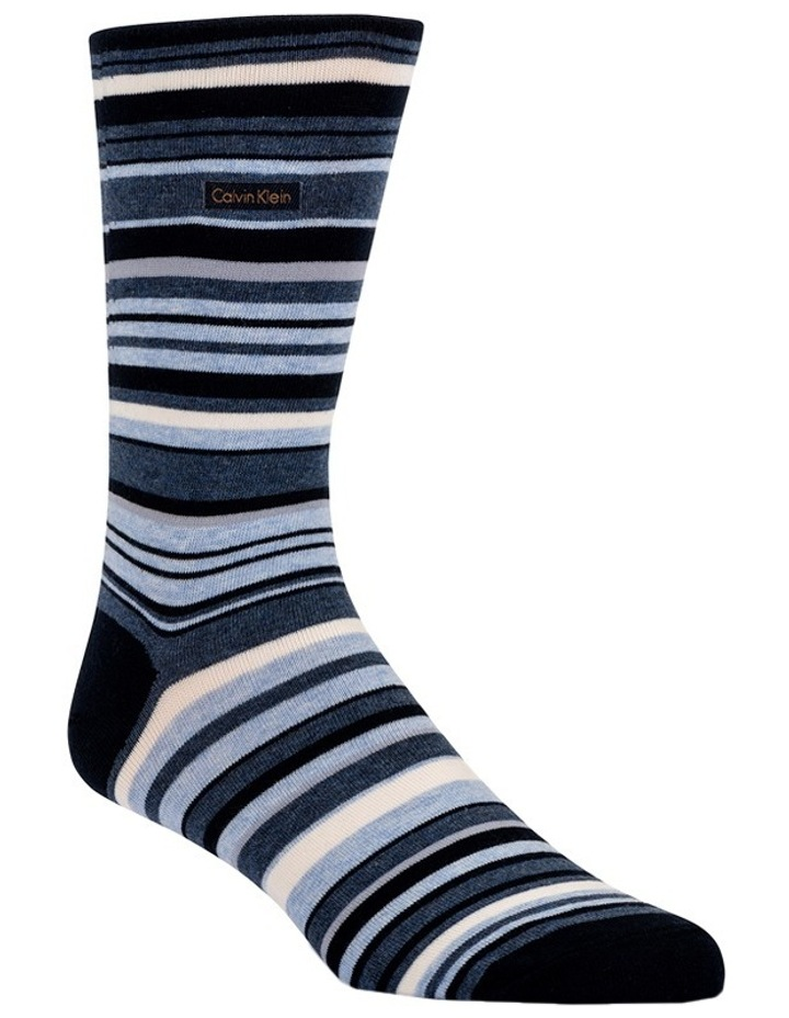 Barcode Stripe Cotton Sock image 2