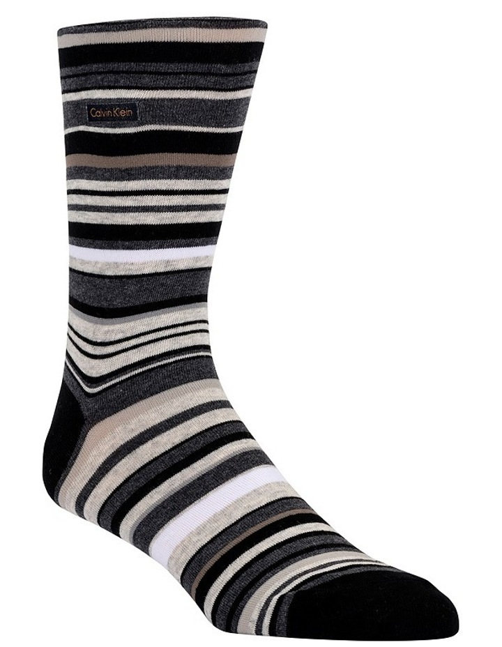 Barcode Stripe Cotton Sock image 2