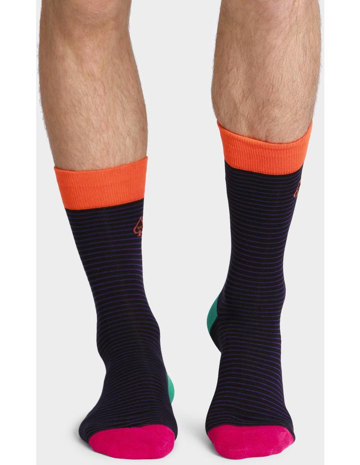 3 Pack Gift Box Cotton Fashion Socks image 2