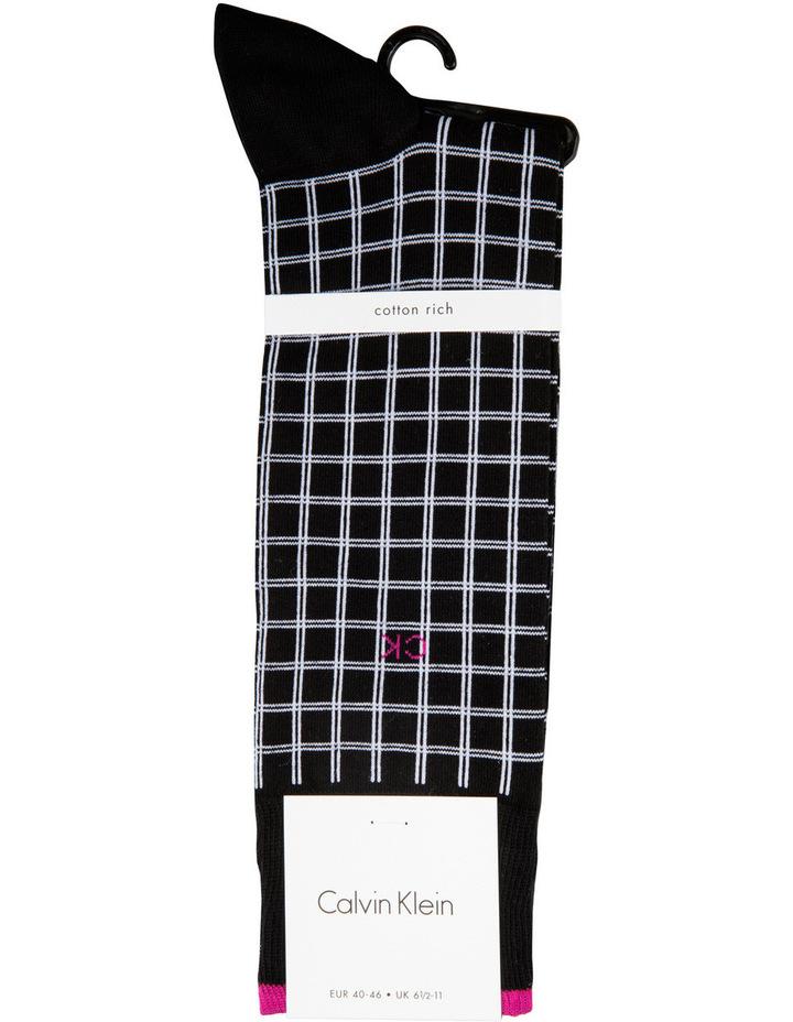 Chandler Double Grid Fashion Sock image 1