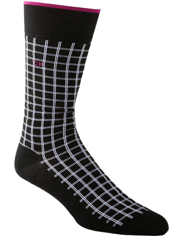Chandler Double Grid Fashion Sock image 2