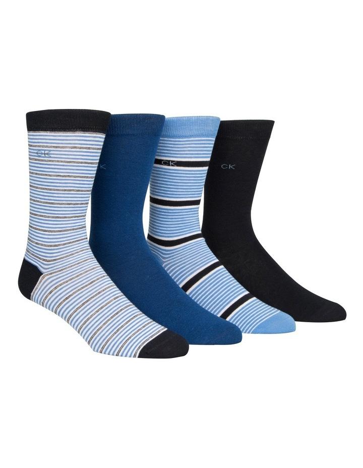 4 Pack Dress Socks Gift Box image 2