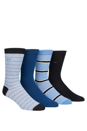 Calvin Klein - 4 Pack Dress Socks Gift Box