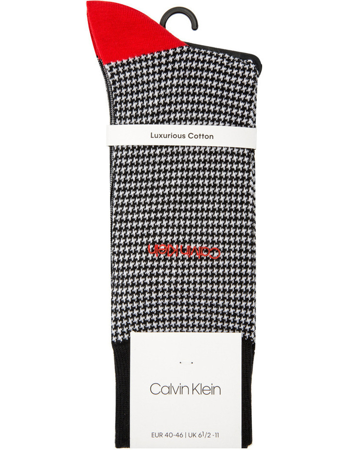 Hounds Tooth Business Sock image 1