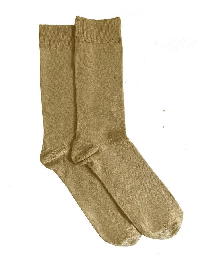 Tough Toe 2 Pack Cotton Mercerised Socks image 1