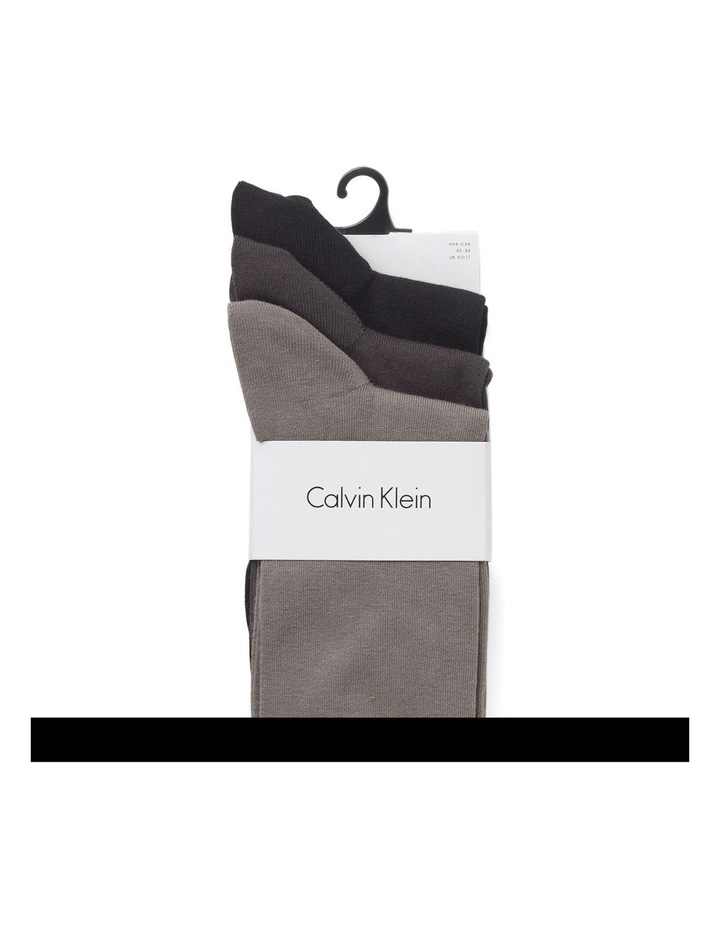 Calvin Klein 3 Pair Flat Knit Crew image 2