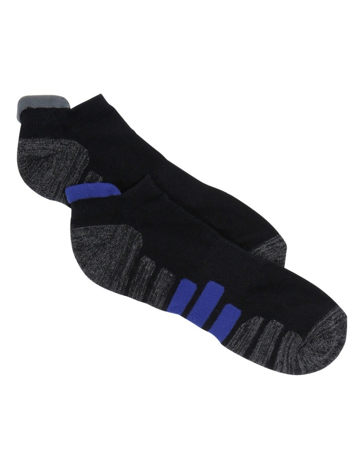Active Heel Tab 2 Pack Sports Sock image 1