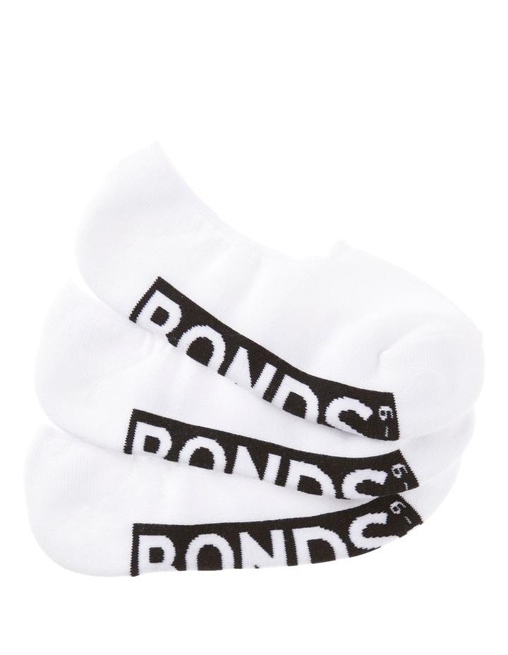 3 Pack Sneaker Logo Socks image 2
