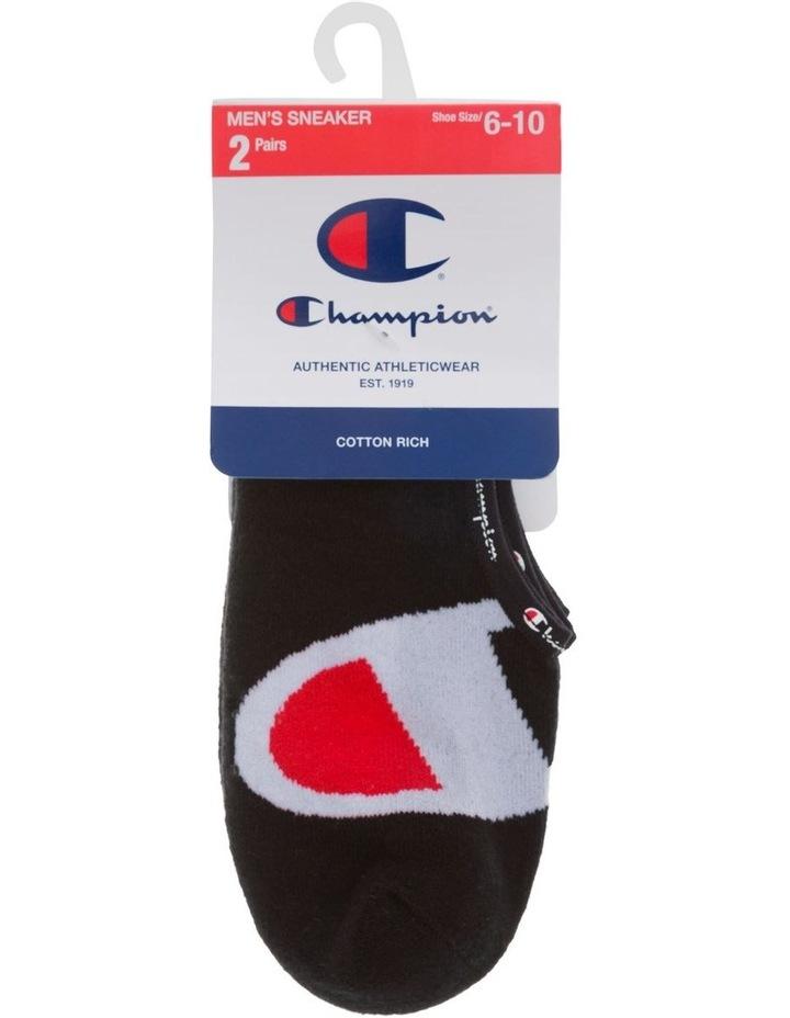 2 Pack C Logo Sneaker Socks image 1