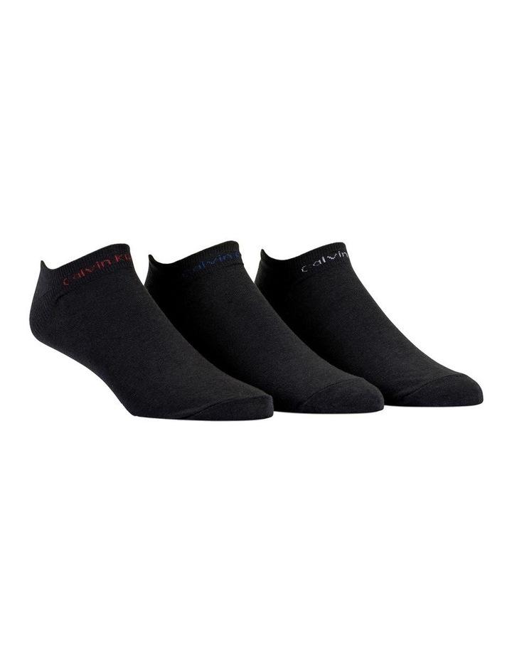 3 Pack Coolmax Sneaker Socks image 1