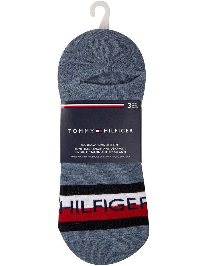 Tommy Hilfiger 3 Pack Sport No Show Socks image 2