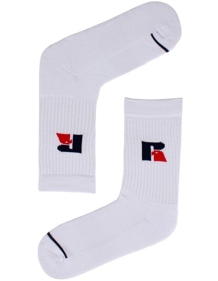 3 Pack Sport Crew Socks image 2
