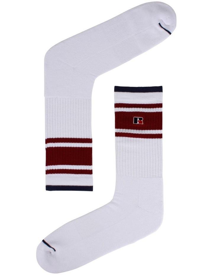 3 Pack Stripe Sport Crew Socks image 4
