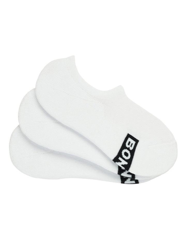 3 Pack Logo 3D Sneaker Socks image 1