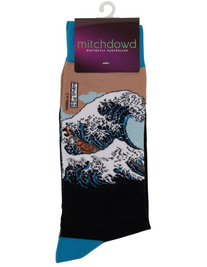The Great Wave Sock image 2