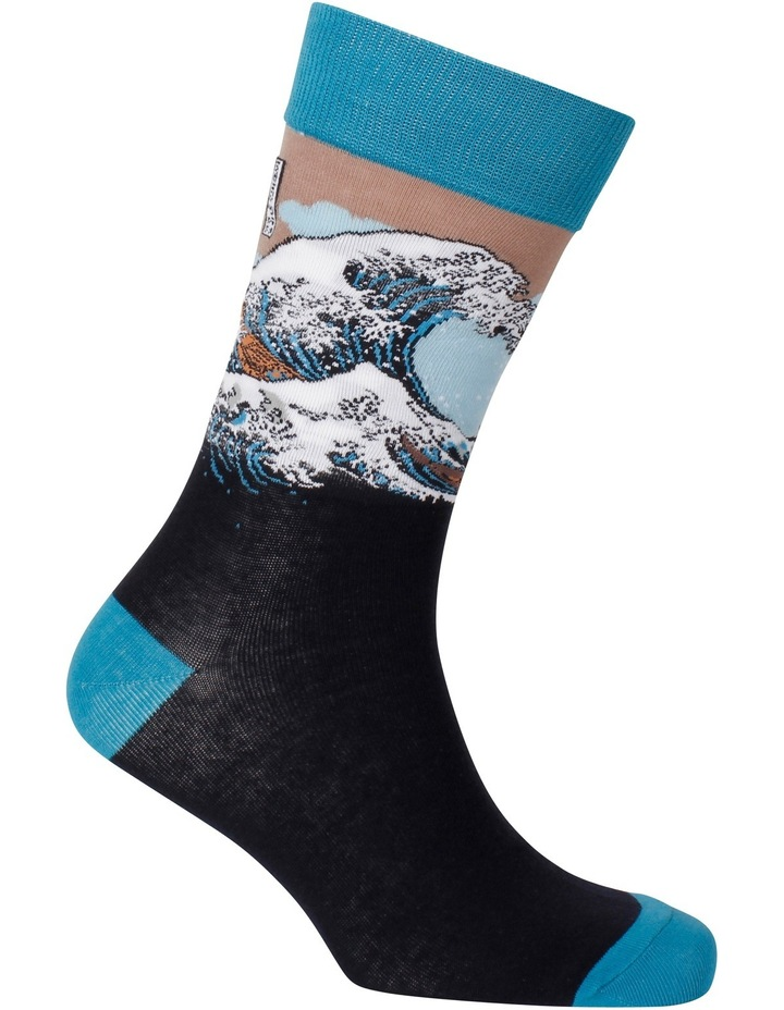 The Great Wave Hokusai Sock image 2