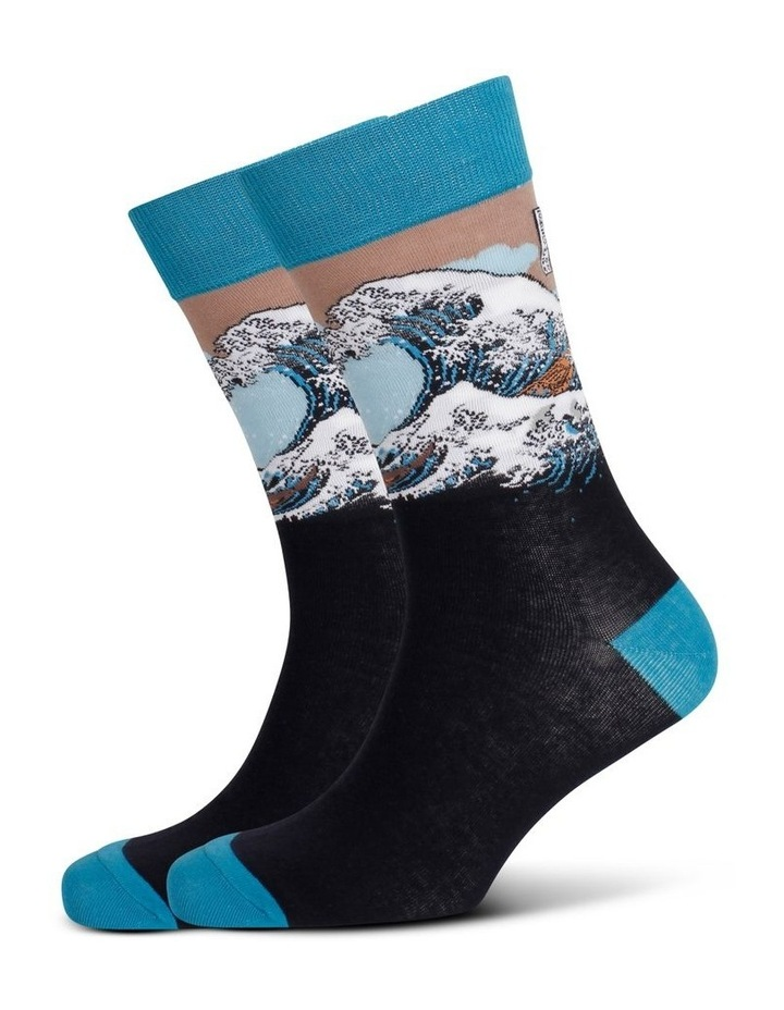 The Great Wave Sock image 3