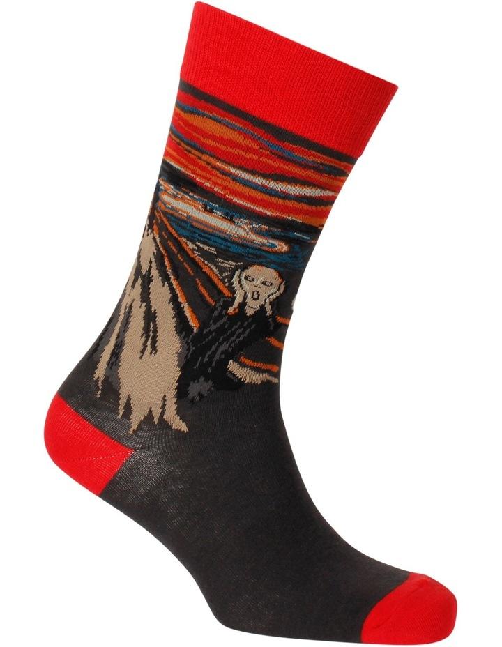 The Scream Edvard Munch Sock image 2