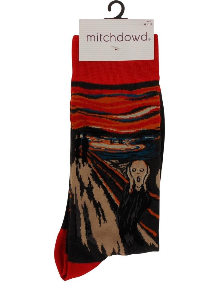 The Scream Edvard Munch Sock image 3