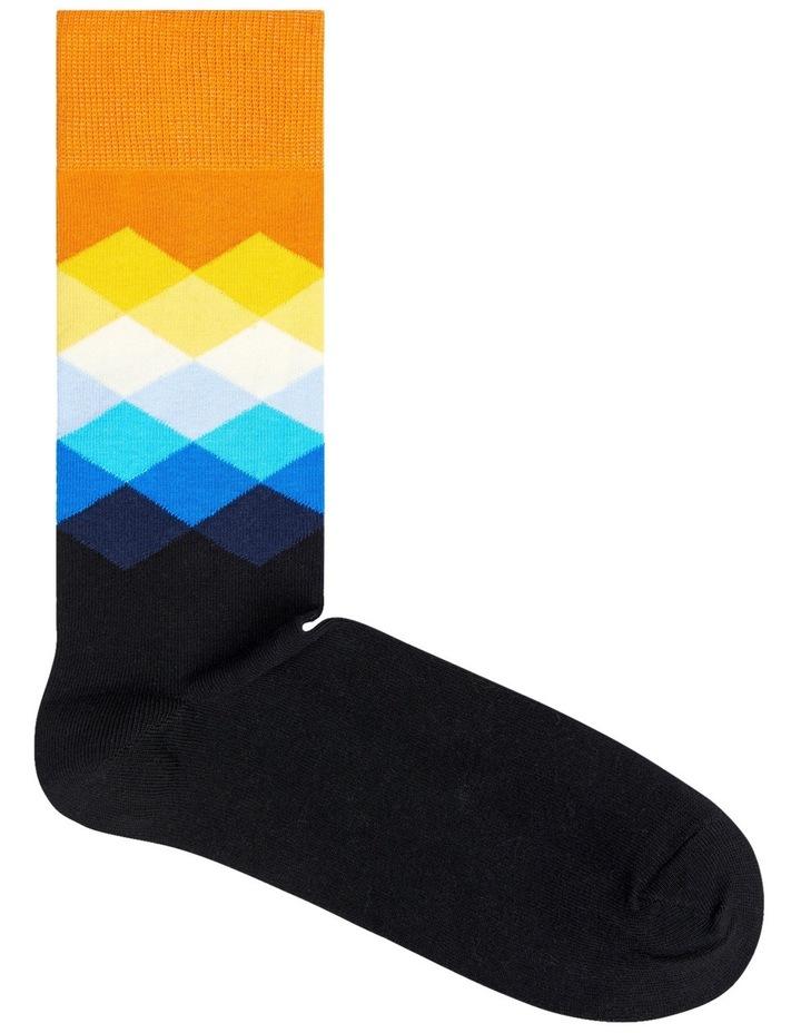 Fade Diamond Sock image 2