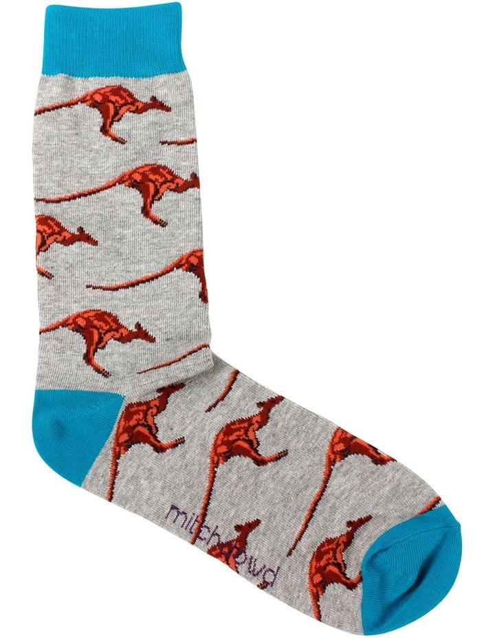 Kangaroos Crew Sock image 1