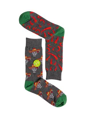 Mitch Dowd - Mexican Chillies Odd Socks